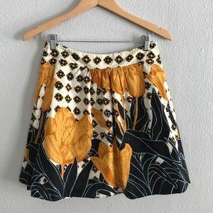 Anthropologie Edme & Esyllte Vintage Cotton Skirt